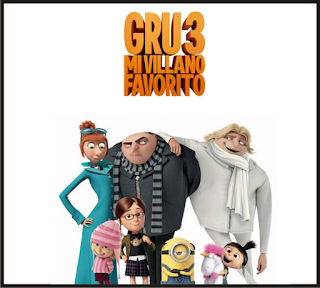 Película Gru 3, Mi villano favorito.