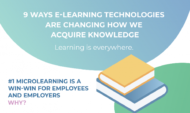9 Ways eLearning Technologies Are Changing How We Acquire Knowledge #infographic