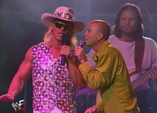 WWF -  Unforgiven 1998: In Your House 21 - Jeff Jarrett sings with Sawyer Brown