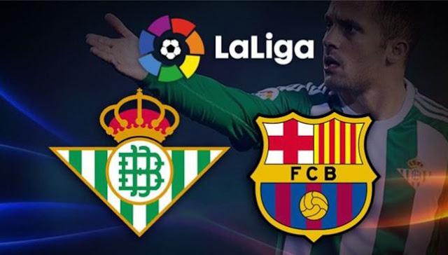 شاهد مباراة برشلونة وريال بيتيس بث مباشر فى الدوري الإسباني