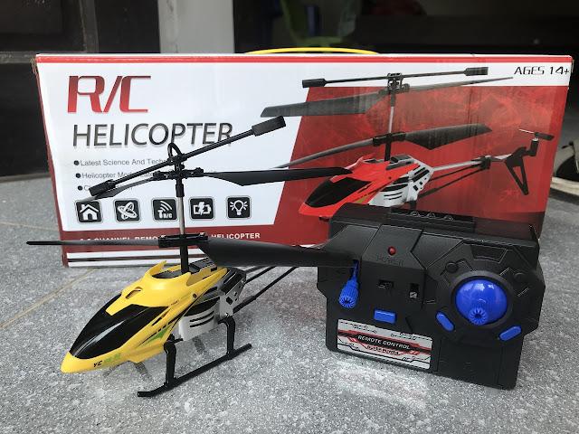 Máy bay trực thăng điều khiển từ xa 3.5 kênh HW7009 _3