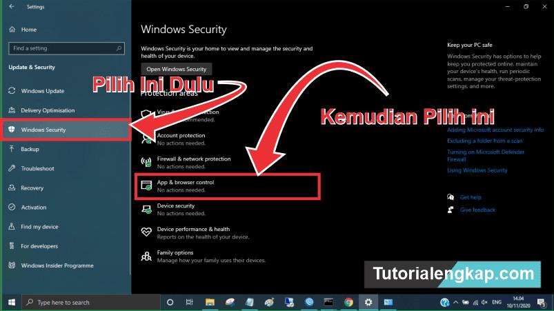 [Update] tutorialengkap 3 Cara Menonaktifkan Microsoft Defender SmartScreen Windows 10 2021