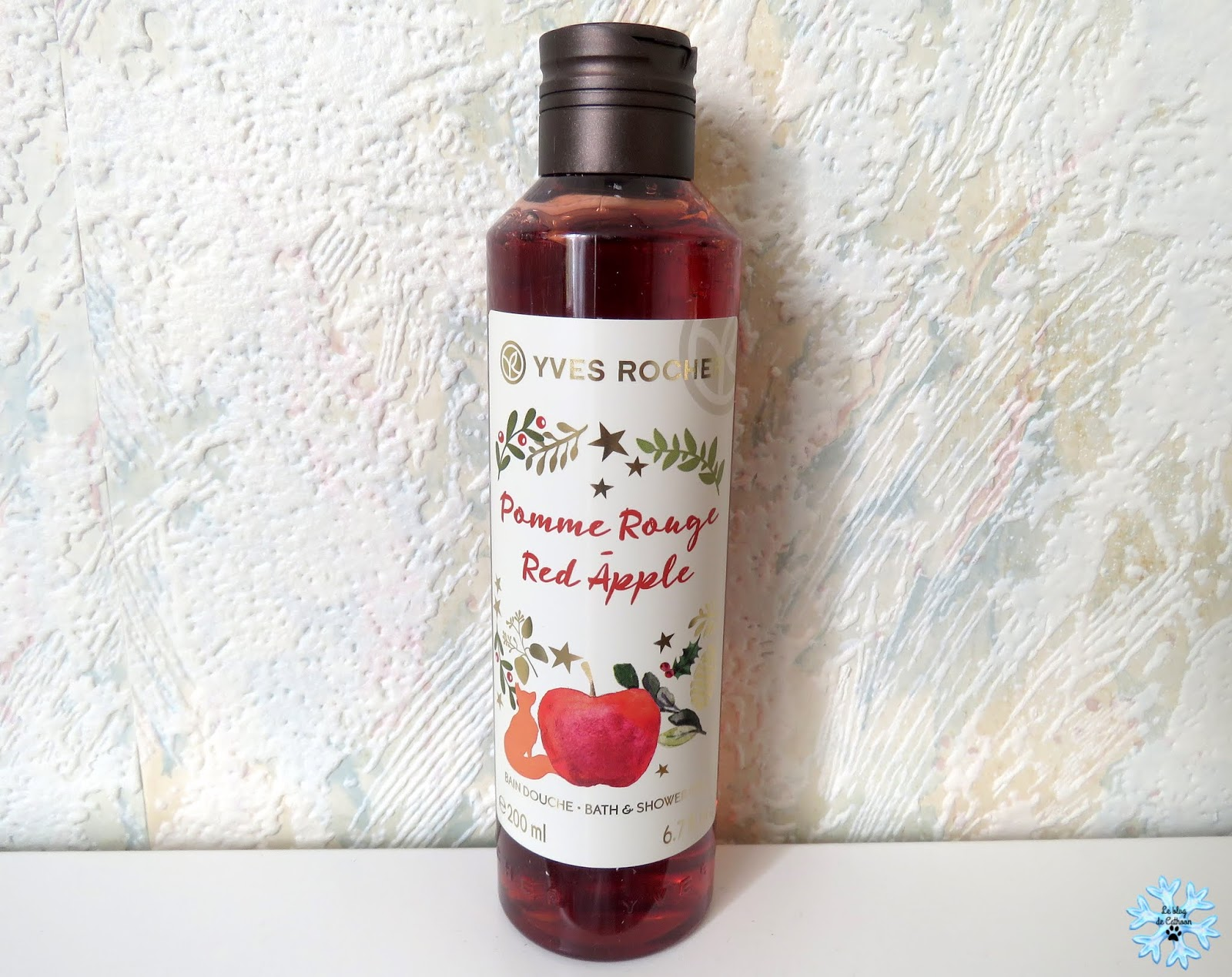 Pomme Rouge - Red Apple - Bain Douche - Yves Rocher