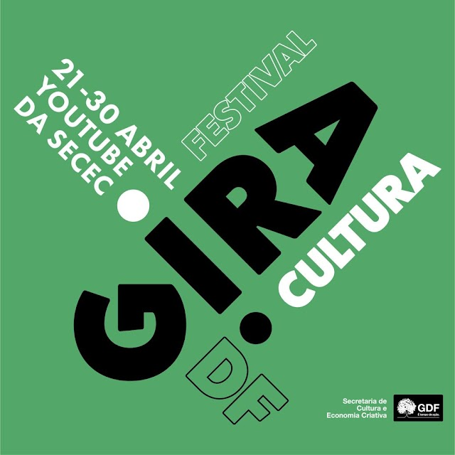 As Ações do Gira Cultura DF comemoram os 61 anos de Brasília