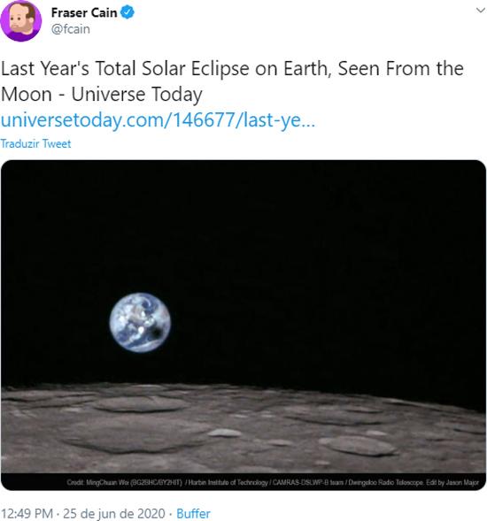 Eclipse Julho 2019