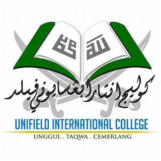 Temuduga Terbuka Kolej Antarabangsa Unifield 10 & 11 April 2018