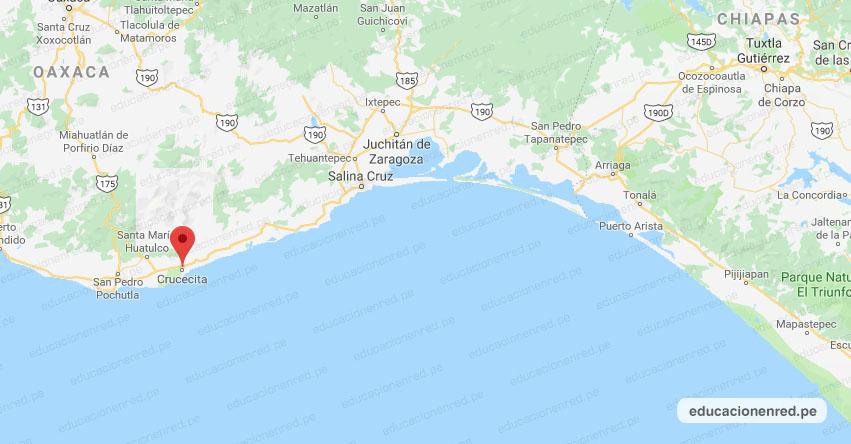 Temblor en México de Magnitud 4.1 (Hoy Viernes 05 Marzo 2021) Sismo - Epicentro - Crucecita - Oaxaca - OAX. - SSN - www.ssn.unam.mx