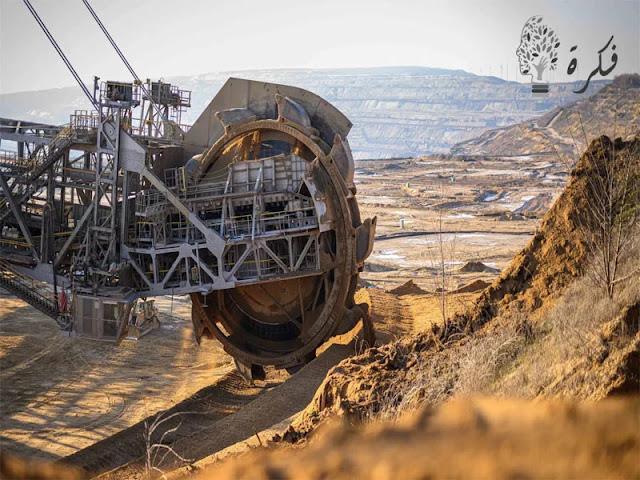 نهاية عاصمة العالم للفحم البني