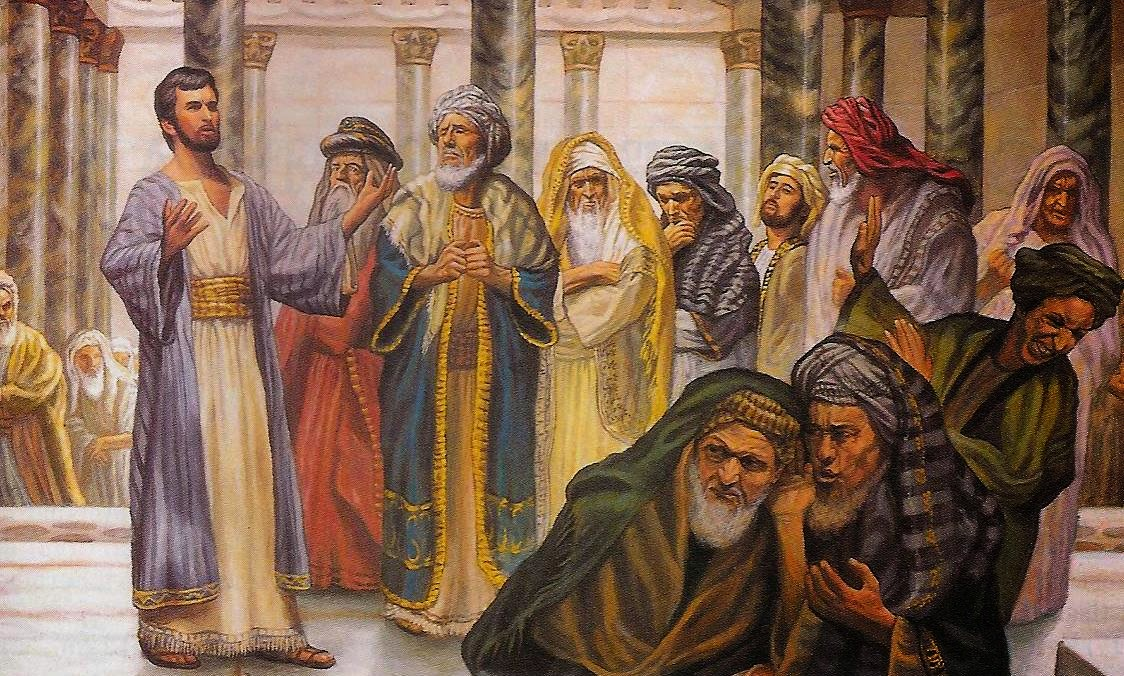 There are those who, like the Pharisees, indulge in false piety and construct religious scaffolding to avoid facing the full implications of trusting and loving God.