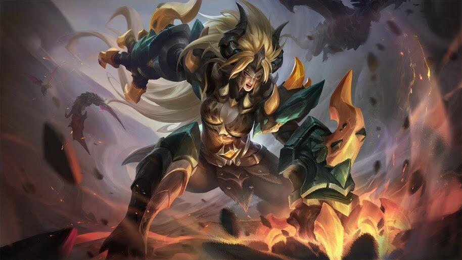 Masha, Dragon Armor, Mobile Legends, Skin, 4K, #5.2494