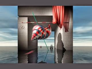 paisajes-surrealistas-contemporaneos pinturas-modernas-surrealistas-paisajes