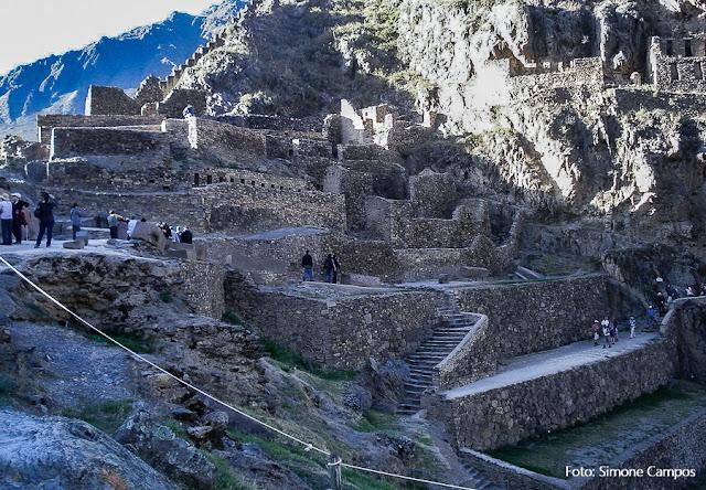 Fortaleza de Ollantaytambo, no Vale do Urubamba, com entrada incluída no boleto turístico de Cusco