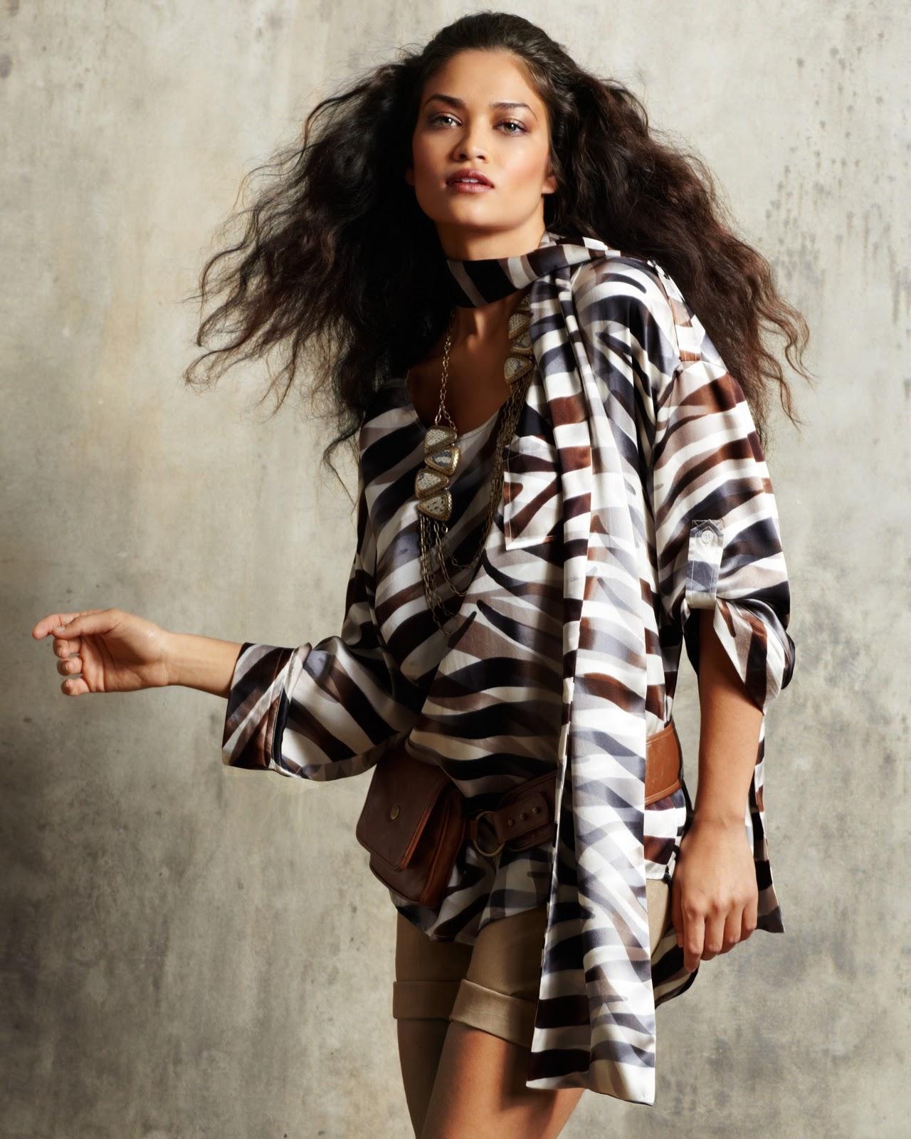 Shanina Shaik (Newport News Catalog 2011) HQ - Models ...