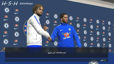 PES 2017 Chelsea Pass Room And Manager Kits