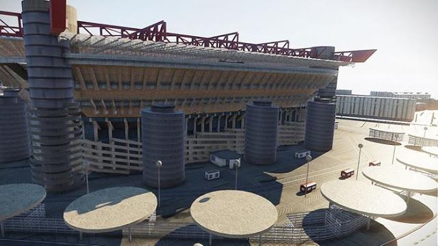PES 2020 New Exterior View Giuseppe Meazza