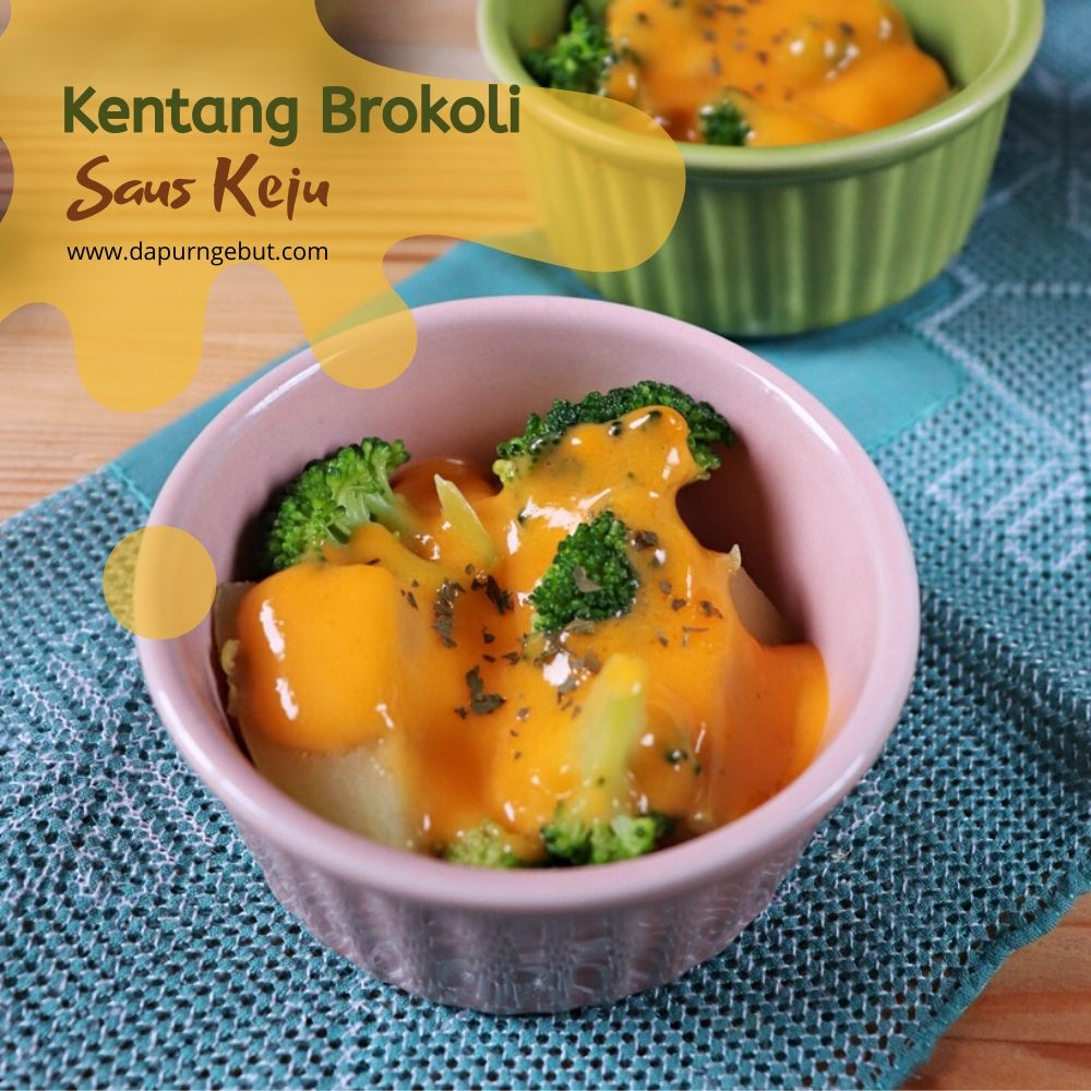 Kentang Brokoli Saus Keju Dapur Ngebut