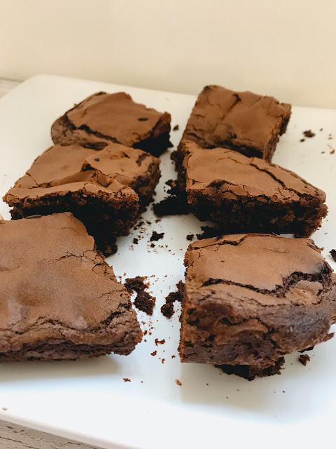 Easy baking ideas for the Great British Bake Off final - chocolate brownies