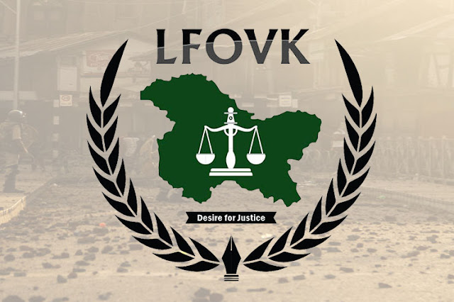LFOVK writes to UNSC and UNSG for urgent and immediate Intervention in Disputed Jammu and Kashmir.