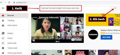 tutorial download film dari youtube lewat laptop