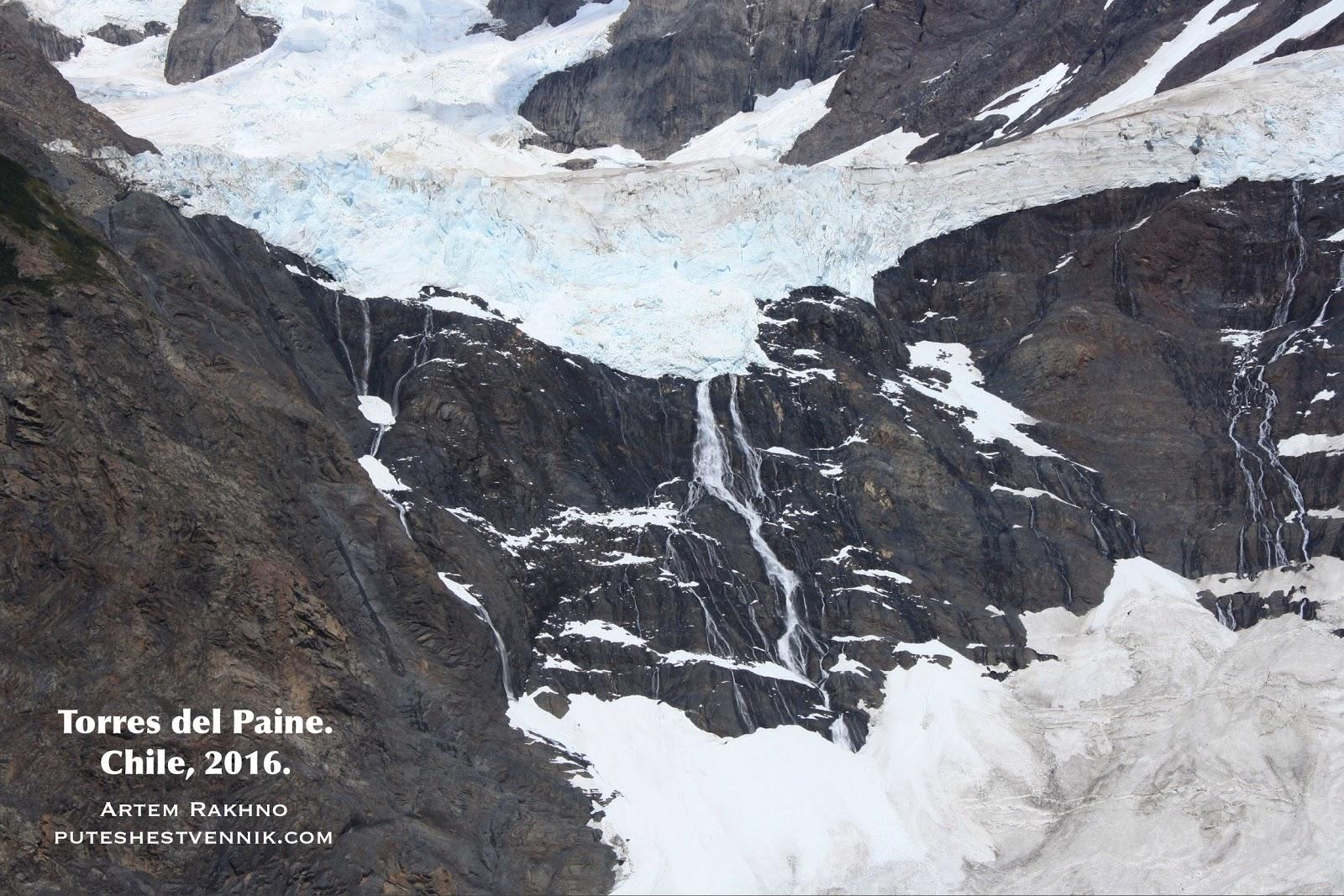 Ледники таят в Торрес-дель-Пайне