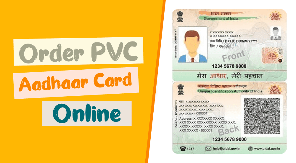Download New PVC Aadhaar Card Cheap