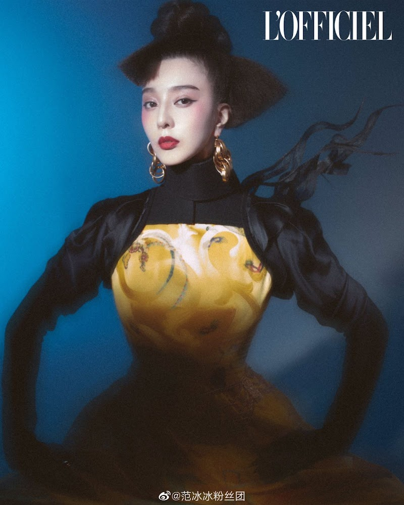 Fan Bingbing Clicked for L'Officiel Magazine-  Italy Winter 2020