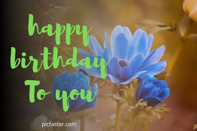 Top New Happy Birthday Flowers Images Free Download