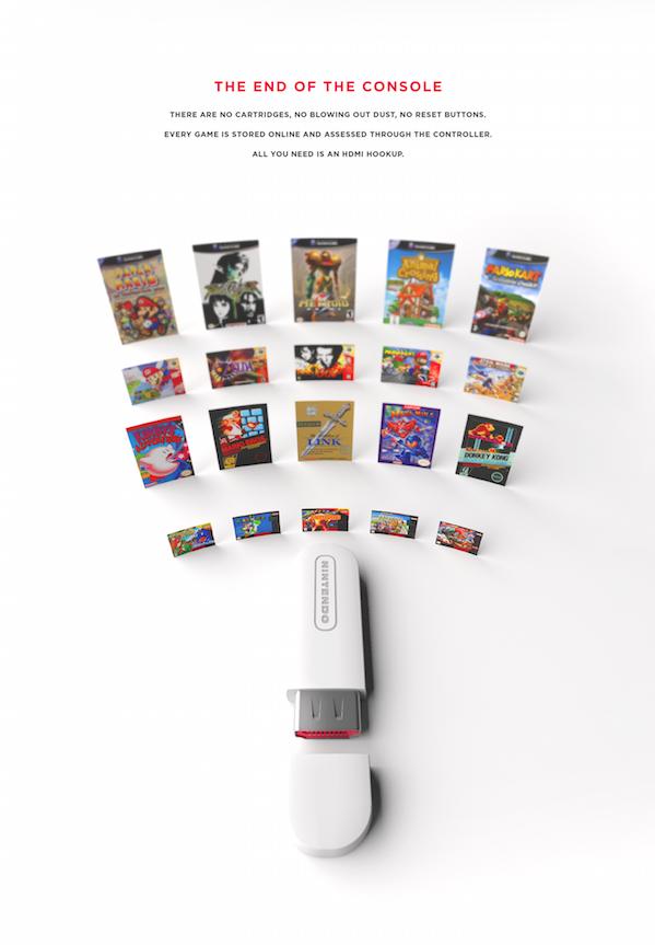 Nintendo Legends, Una elegante propuesta de diseño para Nintendo