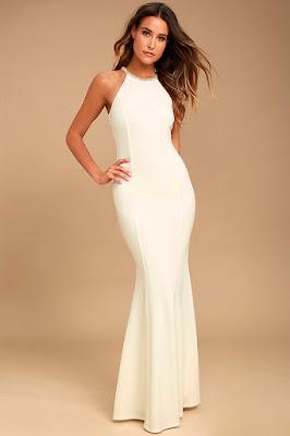 vestidos formales con cola