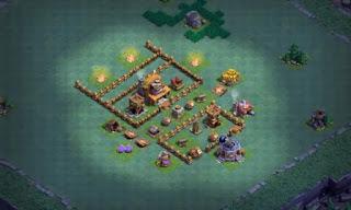 Best Builder Hall 4 base Map