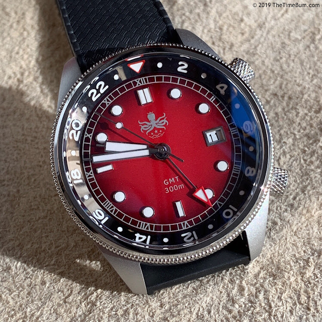 Phoibos Eagle Ray GMT red