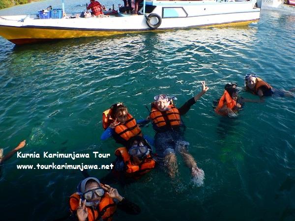 tour gabungan snorkeling di karimunjawa
