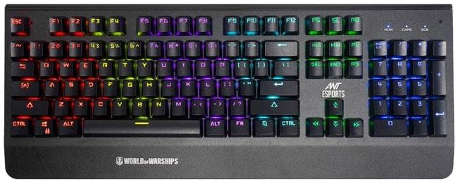 Ant Esports MK3400V2 W Mechanical Keyboard in ₹2499 in India.
