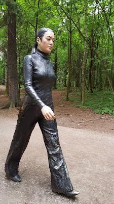 Oslo park statue