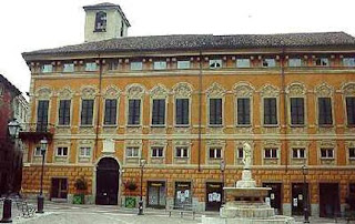 The Palazzo delle Piane, one of several historic palaces in the Piedmont town of Novi Ligure