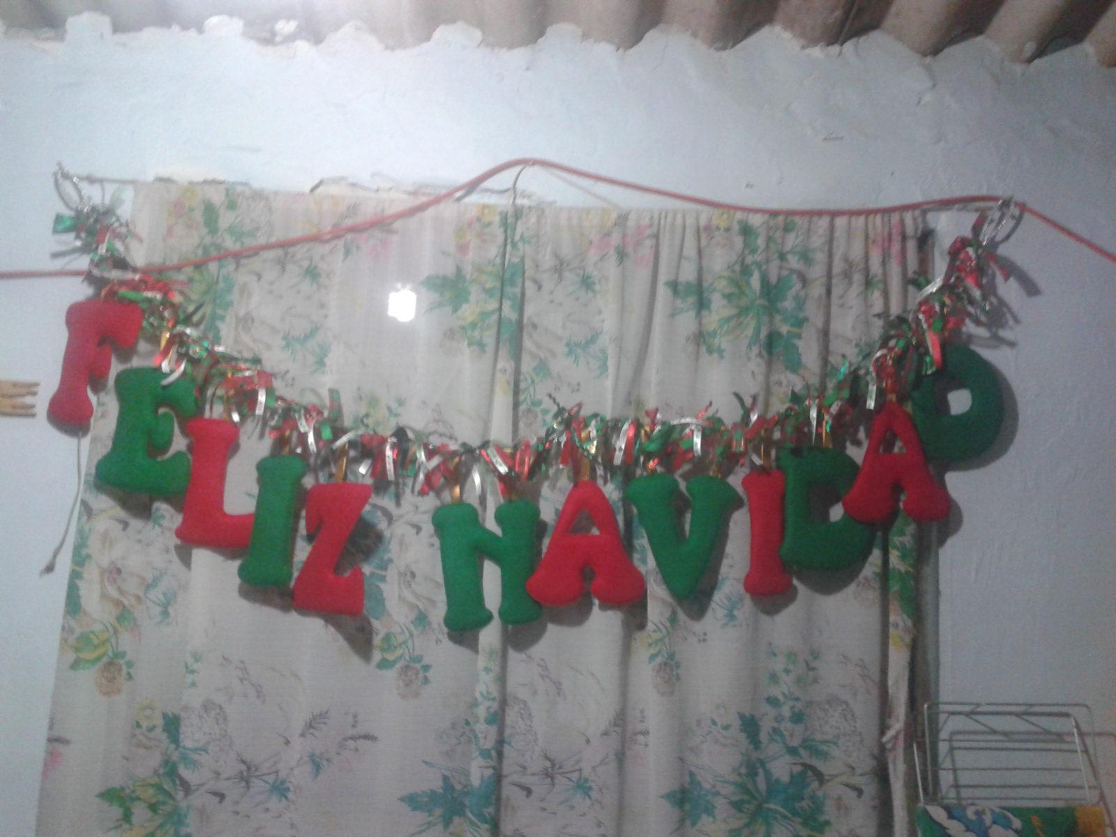 Shexeldetallitos Blog De Manualidades Letrero Feliz Navidad De Fieltro