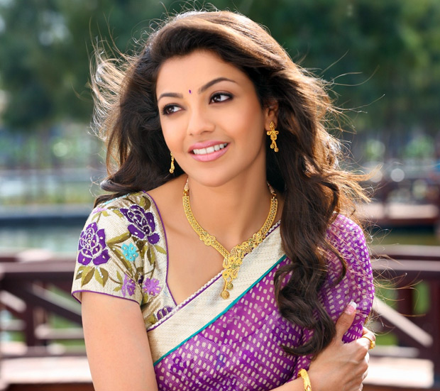 Kajal hot in saree
