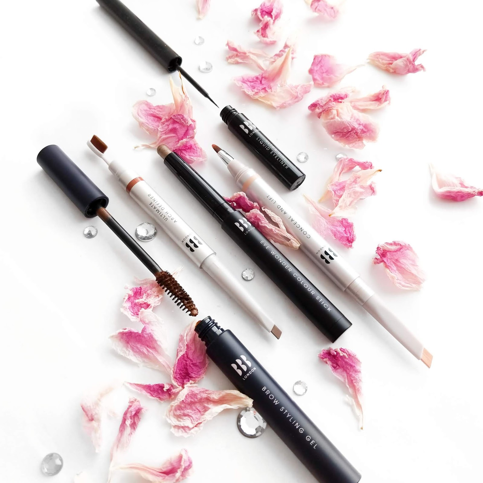 An image of the Blink Brow Bar makeup products