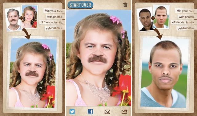 أفضل تطبيق تغيير الوجه للايفون