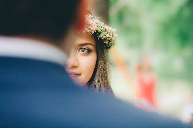 wianek slubny - Ozdoby ślubne do włosów - dlaczego nie wianek zamiast welonu?