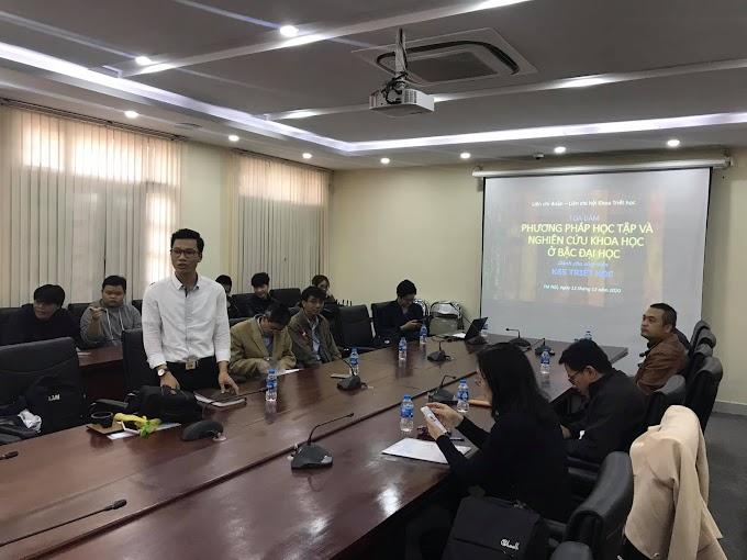 Khoa Triết học USSH VNU - Tọa đàm phương pháp học tập và nghiên cứu khoa học cho sinh viên khóa mới