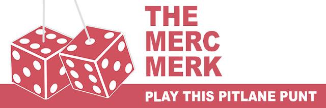 The Merc Merk: play this Pitlane Punt