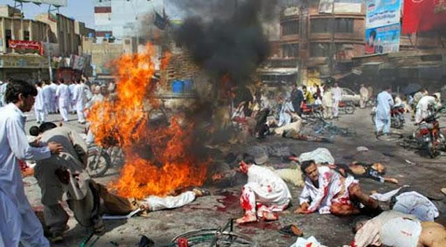 Bom Bunuh Diri Meledak di Gereja Pakistan, 78 Orang Tewas