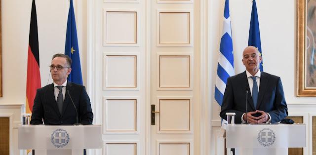 Γερμανός ΥΠΕΞ: Μία σπίθα στην ανατολική Μεσόγειο μπορεί να φέρει καταστροφή