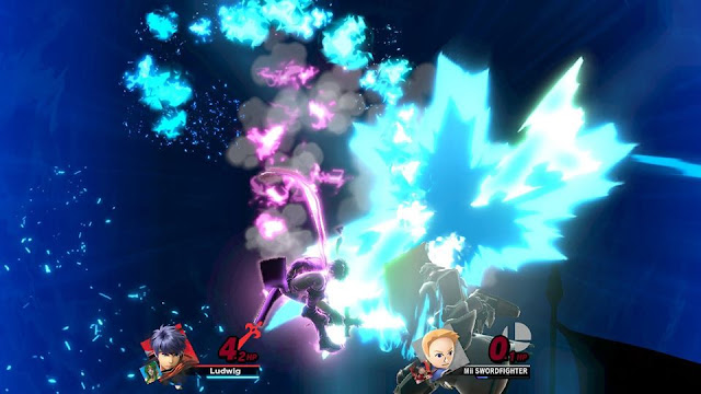 Ike Great Aether Black Knight Mii Swordfighter Zelgius spirit Final Smash Super Smash Bros. Ultimate