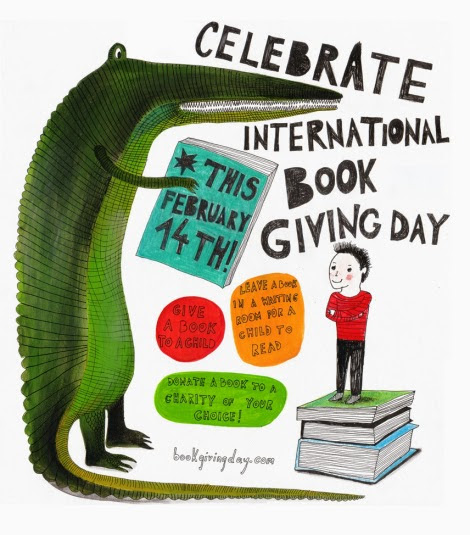 14th February International Book Giving Day