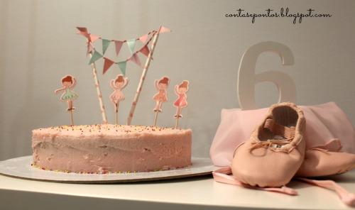 Festa de aniversário - balet