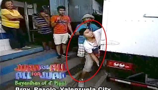 Jose Manalo wanted to throw a truck