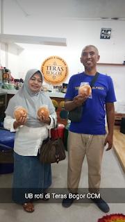 Umkm kabupaten bogor produk ub roti ada di teras bogor
