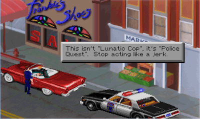 Videojuego Police Quest In Pursuit Of The Death Angel